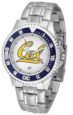 Cal Competitor Men's Steel Band Watch SunTime. $76.95. Calendar Date Function. Rotating Bezel. Color Coordinated