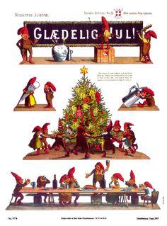 Klippeark, Nissernes juletræ