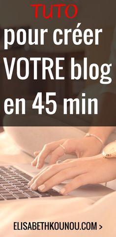 Une vidéo de 45 minutes qui vous accompagne pas à pas dans la création de votre #blog #Wordpress. #blogging #blogueur #beginner