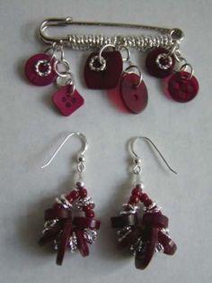 ENCONTRADA EN LA WEB Button Jewellery, Jewelry, Drop Earrings, Fashion, Stud Earrings, Necklaces, Buttons, Powerful Quotes, Moda