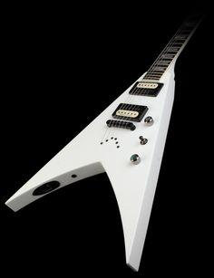 Jackson USA Select KV2T King V Electric Guitar Snow White