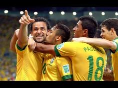Brazil Vs Spain 3-0 All Goals and Highlights (Confederations Cup Final) ...Nobody scores goals (or calls matches) like the Brazilians.