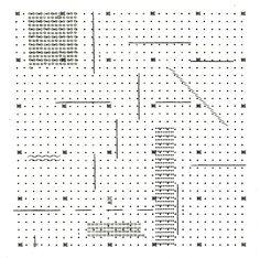 """archizoom, """"No-stop city"""". Ipotesi di linguaggio architettonico non figurativo, 1970(via abitare)"""