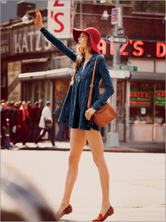 The Second Star to the Right: a fashion neverland: Karlie Kloss for Free People