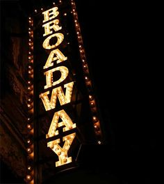16. see a broadway show