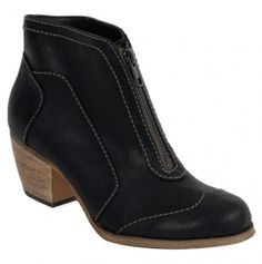 Womens Ankle Boots with Zip