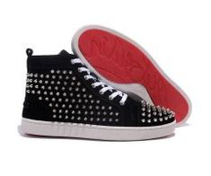 2012 Best Cheap Christian Louboutin Louis Silver Spikes High Top Nubuck Leather Mens Sneakers Black CODE: Christian Louboutin 2019 Price: $178.00 http://www.bestpricechristianlouboutin.com/2012-best-cheap-christian-louboutin-louis-silver-spikes-high-top-nubuck-leather-mens-sneakers-black.html