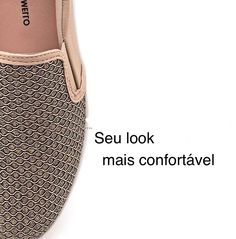 Desafio do dia: Conseguir tirar dos pés! Muito confortável, além de lindo #koquini #comfortshoes #euquero #marinamello Compre Online: http://koqu.in/2fCh5Od