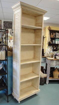 Tall Shutter Shelf