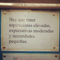 Expectativas moderadas