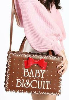 Baby Biscuit bag. Because, I call my rabbit Baby Biscuit. I think I need this. 0_0