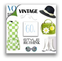 """""""Get the 1960s Modern Vintage Look"""" by berry1975 ❤ liked on Polyvore featuring Emilio Pucci, Mark Cross, modern, vintage and 1960"""