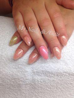 Cnd Brisa Gel. Cnd Shellac , additives. Nailart. Summer. Love it. Nails. Colors. ❤️