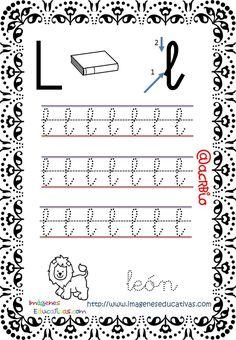Cuaderno de trazos Imágenes Educativas letra escolar (12)
