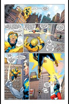 Booster Gold: Futures End #1, page 10<br />