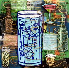 In Francis Pavy's paintings his deeply personal, heavily Cajun influenced iconography merges with universal themes through vibrant color and detailed imagery. Arizona Tea, Cold Drinks, Drinking Tea, Vibrant Colors, Illustration Art, Gallery, Artwork, Painting, Cool Drinks