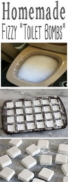 YOU WILL NEVER HAVE TO SCRUB A TOILET AGAIN IF YOU MAKE THESE DIY TOILET CLEANING BOMBShttp://www.feelinglively.com/you-will-never-have-to-scrub-a-toilet-again-if-you-make-these-diy-toilet-cleaning-bombs/