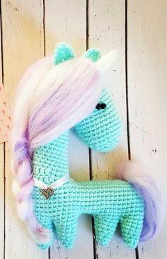 Amigurumi crochet horse (unicorn!) pattern