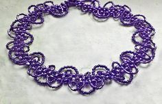 Free pattern for necklace Storm Click on link to get pattern - http://beadsmagic.com/?p=4748