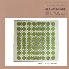 ALTURAS 1402 Carolyn Frielander 3 sizes scrappy charm-friendly Paper-Piecing Patchwork Quilting Pattern Sewing MODERN APPLIQUE Slow S Studio by KinshipQuilters on Etsy
