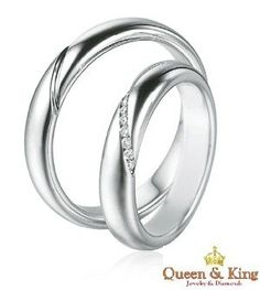 Unique His And Her Matching Wedding Bands