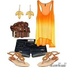 I love the orange