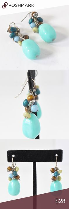 """Turquoise Earrings 