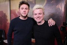 Niall with Jojo Wright for his interview on 102.7 KIIS FM in LA tonight 11-30-16