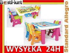 Mebelki dla Dzieci Komplet Stolik Krzesełka HIT!!
