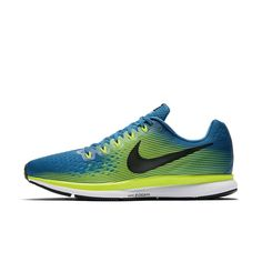 Nike Air Zoom Pegasus 34 Men's Running Shoe Size 11.5 (Blue) Nike Air Zoom Pegasus, Sports Equipment, Running Shoes For Men, Nike Running, Jogging, Industrial, Sneakers, Boots, Blue