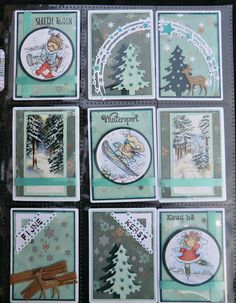 The Snoesje blog New Pen, Pocket Letters, Marianne Design, Artist Trading Cards, Happy Mail, Winter Theme, Mail Art, Embellishments, Stampin Up
