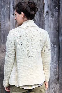 Love Amy's Coolidge pattern.  She makes Vermont Organic yarn turn into angel's wings!