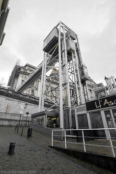 Ascenseur des #Marolles et Palais de Justice de #Bruxelles