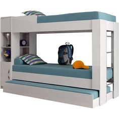 funny bunk beds kids for your child Kids Bedroom Designs, Bedroom Bed Design, Bunk Bed Designs, Room Ideas Bedroom, Kids Bedroom Furniture, Bedroom Decor, Bunk Bed Rooms, Bunk Beds With Stairs, Kids Bunk Beds