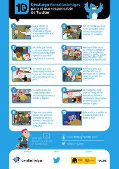 Crea y aprende con Laura: Decálogo para el uso responsable de Twitter (Peter y Twitter)