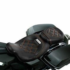 Driver Passenger Seat Set Fit For Harley Street Glide 09+ Road King Special 17+ | eBay