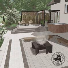 Grill rozpalony woda w jakuzzi nagrzana dzieciaki grzecznie bawią się na ogrodzie... no dobra tego ostatniego nie jestem w stanie zagwarantować ale reszta jest w zasięgu ręki . #taras #projektogrodu #palenisko #hammerland #pergola #nesling #jakuzzi #projektantogrodow #landscapedesigner #landscaping #gardendesigner #fireplace #paving #pin #instagarden Grill, Patio, Outdoor Decor, Instagram, Design, Home Decor, Decoration Home, Room Decor