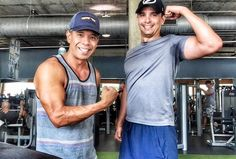 P90X Chest Shoulders Tris Workout - P90X at the Gym - P90X Gym Workout - Powerhouse Gym Tampa