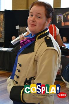 Hans Cosplay from Frozen in July OZComicCon 2014 AU