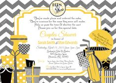 printable his and her couples bridal shower party invite diy printable party invitation by luv