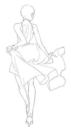 Female Drawing Poses, Anime Poses Female, Manga Poses, Female Pose Reference, Body Reference Drawing, Drawing Reference Poses, Anime Female Base, Anime Base, Poses References