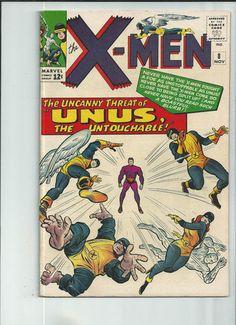 UNCANNY X-MEN #8 Silver Age gem from Marvel Comics! http://r.ebay.com/nVDkEs