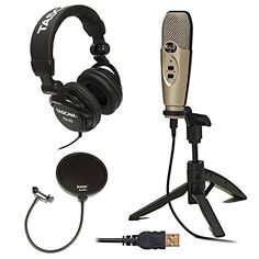 Record studio-quality audio directly to your computer via USB with the CAD U37 side-address condenser microphone--a great choice for both vocal and instruments as well as for creating podcasts and voi...