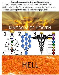 Uncovering the secret hidden symbolism pertaining to Enlightenment and Ascension Kingdom Of Heaven, 7 Chakras, Wisdom, Symbols, Modern, Life, Trendy Tree, Glyphs, Icons