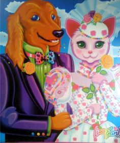 This was basically my childhood, I LOVED lisa frank.