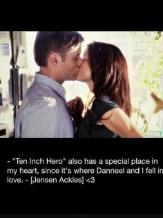 JA talking about Ten Inch Hero <<--wait, Jensen met his wife on set just like Jared? AWWWW!!!!! now i want to watch it. xP