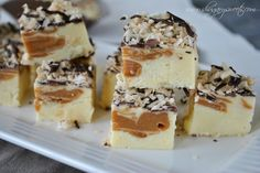Chocolate, Caramel, Coconut Fudge (aka Samoa Fudge