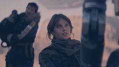 """Jyn: """"Half of the people in there won't to reprogram you, the other half want to put a hole in your head."""" K2: """"I am surprised you are so concerned with my safety."""" Jyn: """"I am just worried they'll miss you, and hit me."""" K2: """"Doesn't sound so bad to me."""""""