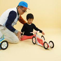 わくわくさん役でおなじみの久保田さんに、またまた本気の工作をお願いしました! なんと、レーシングカー!実際に走ります。 どうやって走るのかな? 動画で確認してね。