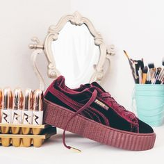 Sneakers women - Puma Fenty Creepers Velvet (@nicekicks @rayp_photos)